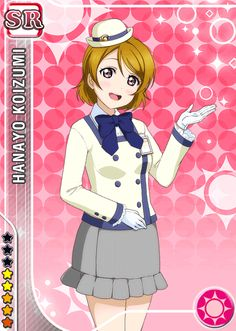 #579 Koizumi Hanayo SR