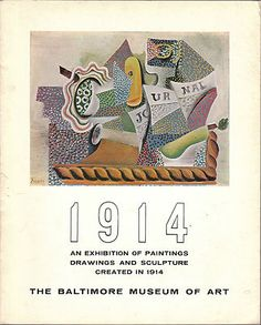This vintage catalog features work of art by both famous and not so well known artists . Done in Celebration of the 50th Anniversary of the Baltimore Museum of Art October 6-November 15 1964 Great reference item.