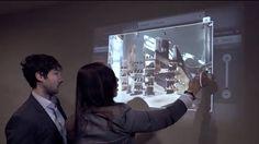 A Microsoft e a startup americana Ubi criaram o Screengrab, que utiliza a tecnologia do Kinect para simular em superfícies lisas uma tela sensível ao toque. Interessados deverão adquirir a versão do sensor Kinect para Windows por US$ 250 e o software de controle da Ubi, que varia entre 150 e US$ 1.500 - confira o incrível vídeo na Veja.
