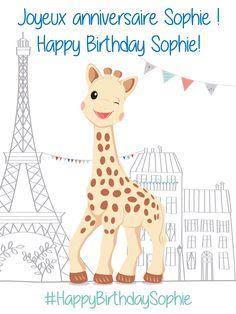 #happybirthdaysophie #54 #anniversary #sophie #la #girafe