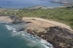 Constantine Bay - Cornwall coast aerial image | by John Fielding #cornwall #coast #shore #beach #aerial #constantinebay