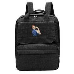 Womens Rosie The Riveter We Can Do It School Bag ** Be sure to check out this awesome product.