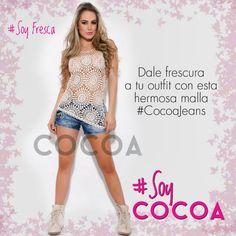 Luce siempre espectacular con @Cocoa Jeans #SoyFresca #SoyModa #SoyCocoa