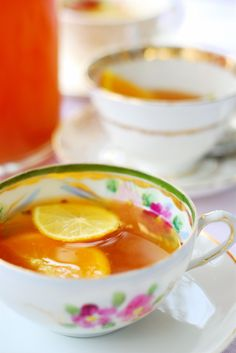 """~ garden party tea punch ~    """"UNDER certain circumstances there are few hours in life more agreeable than the hour dedicated to the ceremony known as afternoon tea. There are circumstances in which, whether you partake of the tea or not—some people of course never do—the situation is in itself delightful. Those that I have in mind in beginning to unfold this simple history offered an admirable setting to an innocent pastime. The implements of the little feast had been disposed upon the lawn of"""