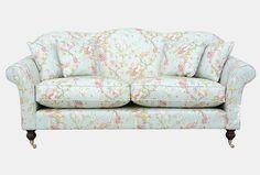 Hinton sofa in Wesley-Barrell Draycott, duckegg