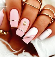 Chic Nails, Classy Nails, Dope Nails, Fancy Nails, Stylish Nails, Pretty Nails, Classy Nail Designs, Pink Nail Designs, Nails Design
