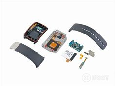 Inside the LG G Watch and Samsung Gear Live smartwatches - easy to pop open and repair. | ZDNet