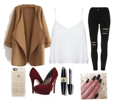 """""""Untitled #1"""" by talits ❤ liked on Polyvore featuring WithChic, Alice + Olivia, Casetify, Michael Antonio and Max Factor"""