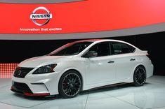 LA 2013: Nissan Sentra Nismo Concept - left front qtr
