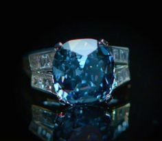 See The Flawless Blue Diamond Expected To Sell For More Than $25 Million