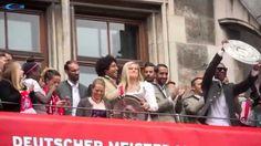 Carina Wenninger & David Alaba @ FCB Meisterfeier 2015 am 24.05.2015