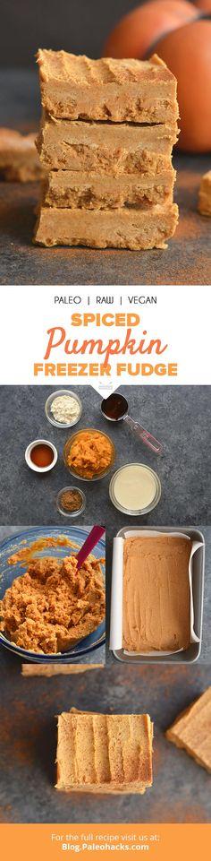 Spiced Pumpkin Freezer Fudge