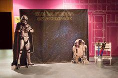 Photocall de Star Wars. Boda rústica. Boda de Star Wars. Wedding Planner, organización y decoración de bodas en Alicante, Elche y Murcia.