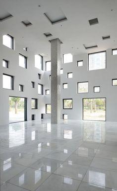 cube tube | lobby ~ sako architects