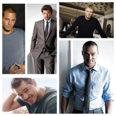 The men of Greys Anatomy :) This show has the hottest men! McSteamy all the way:) Sad he isn't there anymore:(