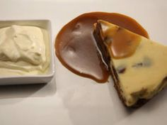 Sticky Date Cheesecake with Caramel Fudge Sauce - from My Kitchen Rules {Australia}