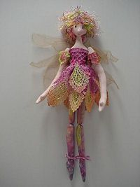 Cloth Doll Patterns by Julie McCollough