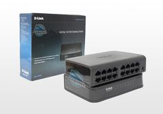 Switch de Rede 16 portas da D-Link. DES-1016A/Z