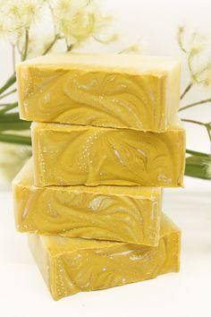 Lemon Grass Tea Cold Process Body Soap by Mojo Spa