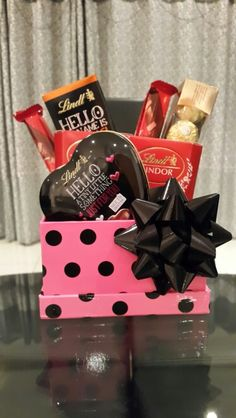 Chocolate gift box for her