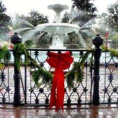 Savannah for the holidays.