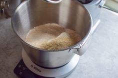 Hvetestang med Nugatti - Noe av det beste jeg har smakt!! | Gladkokken Nutribullet, Kitchen Aid Mixer