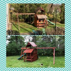 Reposition, modify, add-on monkeybars, stain/seal Wood Playground, Relocation Services, Seal, Yard, Patio, Courtyards, Garden, Harbor Seal, Court Yard