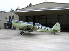 Picture of Supermarine Seafire taken at Crystal Lakes Resort USA - Montana by Laurence M Bean on ABPic Ww2 Aircraft, Fighter Aircraft, Fighter Jets, Military Jets, Military Aircraft, Spitfire Model, Focke Wulf 190, South African Air Force, The Spitfires