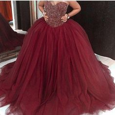 Burgundy Quinceanera Dresses, Sparkly Prom Dresses, Royal Blue Prom Dresses, Blue Ball Gowns, Quince Dresses, Tulle Ball Gown, Ball Gowns Prom, Tulle Prom Dress, Prom Party Dresses
