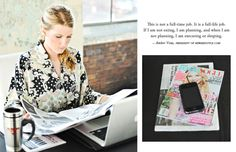 Career Insight from Amber Venz of rewardStyle #theeverygirl