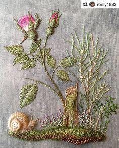 @roniy1983 #embroidery #ricamo #bordado #broderie #handembroidery #needlework
