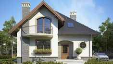 Bungalow House Plans, Design Case, Home Projects, My House, Modern Design, Sweet Home, Exterior, House Design, Mansions