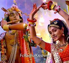 Radha Krishna Love Quotes, Cute Krishna, Radha Krishna Pictures, Radha Krishna Photo, Krishna Photos, Radhe Krishna, Lord Krishna, Lovely Girl Image, Cute Girl Pic