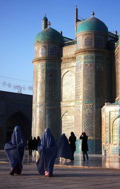 Blue mosque - Mazar-e-sharif Afghanistan.