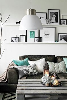 Mint in Grey / Living room