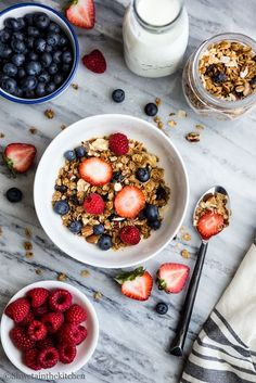 Granola is very popular breakfast and snack food which is also super easy to…