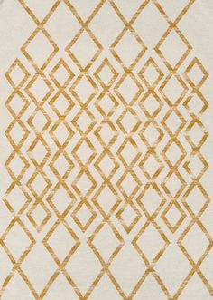 Hackney Diamond Rugs Are Skilfully Hand Woven To Create A Great Looking Yellow Design