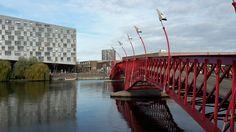 RED bridge #west8 #amsterdam