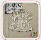 Colección de Patrones de Blusas tejidas - 16 modelos | Crochet y dos agujas