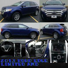 2013 Ford Edge Limited AWD  $19,950.00 www.highcountrymotors.net