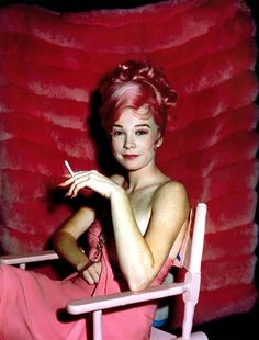 A Brief History of Pink Hair - Vogue | Shirley MacLaine in 'what a way to go!' c. 1964  |  xx SKS