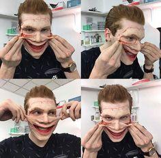 Gotham Show, Gotham Series, Gotham Cast, Gotham Tv, Gotham Characters, Fictional Characters, Jerome Valeska Joker, Jerome Gotham, Shameless Scenes