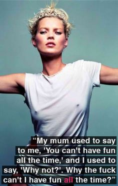 Kate Moss thank you!