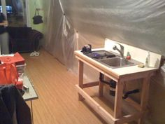 Tips for setting up a Temporary Kitchenkitchen renoPinterest