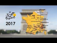Le parcours en 3D / The route in 3D - Tour de France 2017 #TDF2017