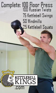 kettlebell, kettlebell exercise, kettlebell circuit, kettlebell workout…