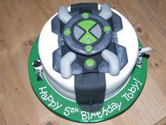 Ben10 omnitrix cake