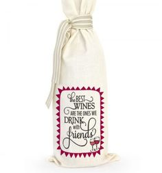 Grab a bottle of wine, put it in this bag and there you have the perfect gift. Great for dinner parties, birthdays, corporate gifts or wedding favors. No card required, the gift says it all. Corporate Gifts, Gift Bags, Cool Gifts, Wines, Wedding Favors, Wedding Keepsakes, Promotional Giveaways, Goody Bags, Treat Bags