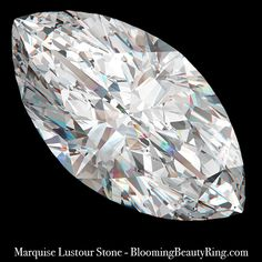 This 2 ct. Marquise Lustour Stone is a diamond alternative that is so close in composition to a mined diamond that it takes a machine to tell the difference. Non Diamond Engagement Rings, Unusual Engagement Rings, Engagement Ring Styles, Matching Wedding Bands, Wedding Matches, Diamond Alternatives, Marquise Cut, Diamond Sizes, Gemstone Colors