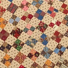 The Temecula Quilt Co. version of the four-patch for the APQ quilt along.
